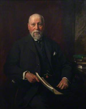 William Coles Pendarves (b.1841), JP, Chairman of the Council (1907–1919)
