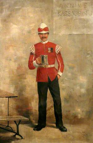 A Bugler in the Duke of Cornwall's Light Infantry