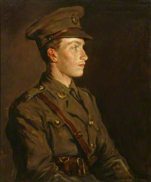 Second Lieutenant Alec Forbes (d.1916), Duke of Cornwall's Light Infantry