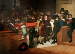 Cromwell's First Appearance in Parliament