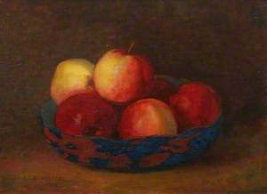Bowl and Apples