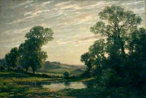 Landscape near Arundel, Sussex