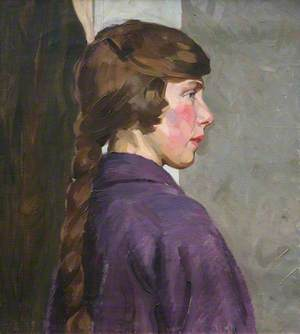 Portrait of a Young Lady with a Plait