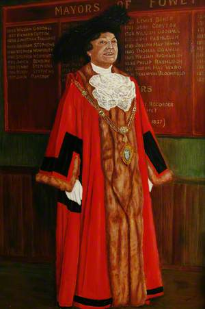 Mrs J. A. Hill, Last Mayor of Fowey