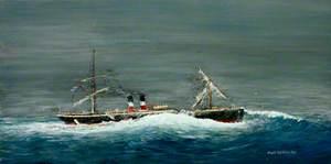 Wreck of the 'Schiller'
