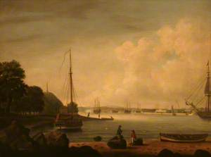 The Dockyard from Cremyll