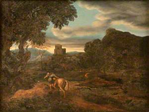 Landscape with Two Horsemen