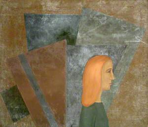 Woman with Orange Hair