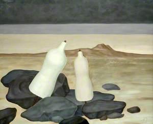 Two White Manikins