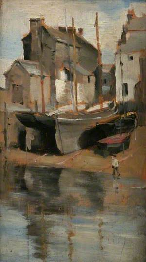 Houses and Boats, Newlyn