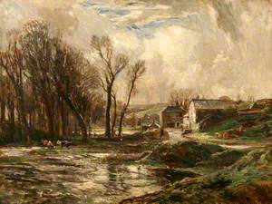 January (The Mill at Lamorna)
