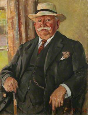 The Man in the Panama Hat (Herbert Thomas, Editor of 'The Cornishman')
