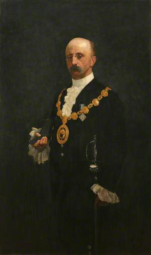 W. J. Bazeley, Mayor (1895–1896)