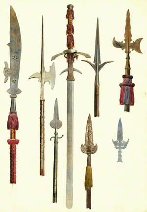 Pike Heads and Sword