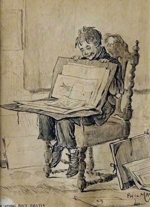 Portrait of a Young Art Critic