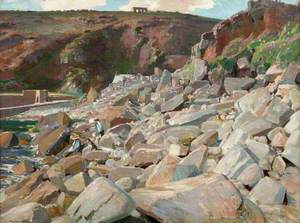 The Rocks at Lamorna