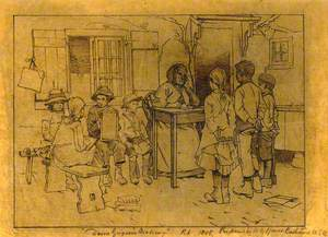 Sketch of Dame Grigson's Academy