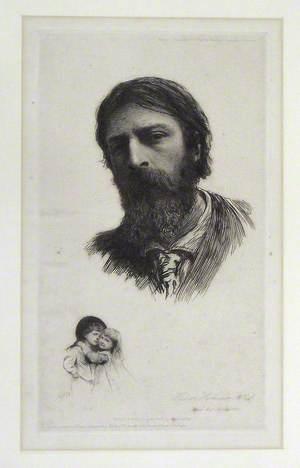 Hubert Herkomer, ARA and His Children