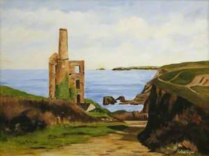 Cornish Mine Ruin