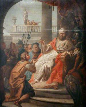 Joseph Interpreting Pharaoh's Dream