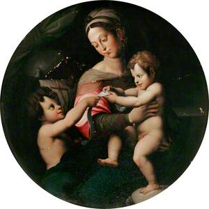 The Virgin and Child with the Infant Baptist