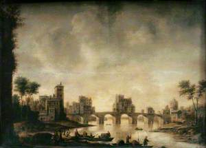 Riverside Scene