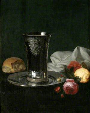 Still Life with Silver Beaker