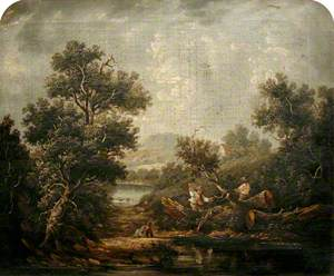 Landscape with Woodcutters