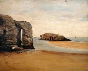 Chapel Rock, Perranporth