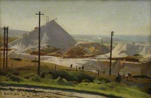 A China Clay Pit, Leswidden