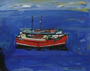 Boat at St Ives