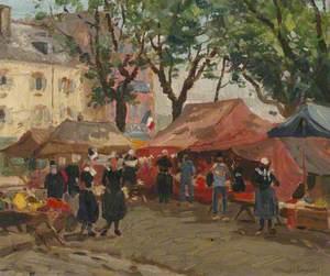 The Market Square, Concarneau
