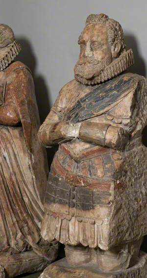 Effigy (Probably of John Michell, d.1620, Ship-Owner of Truro)