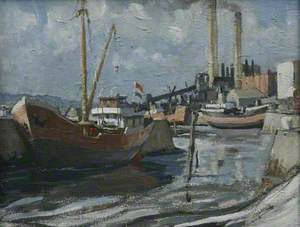 Dutch Boat, Hayle Harbour