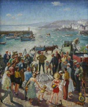 St Ives Fish Sale