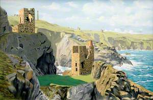 Crown Mines and Botallack Cliffs, June Morning