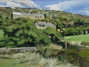 Tamarisk and Cottages, Porthgwarra