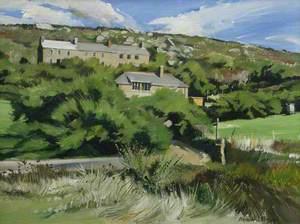 Tamarisk and Cottages, Porthgwarra