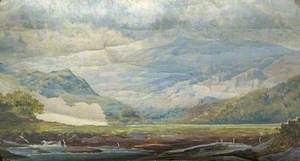 Landscape in North Wales