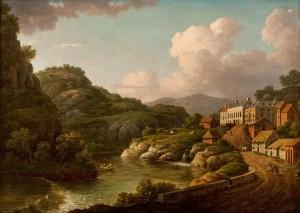 View of Matlock, Derbyshire