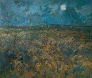 Moonlight, Beeley Moor, Derbyshire