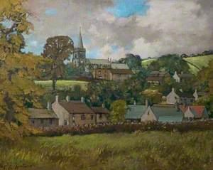 Hathersage Church, Derbyshire