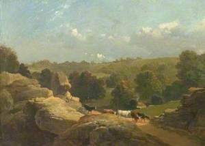 Matlock Dale, Derbyshire