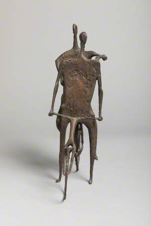 Figures on a Bicycle