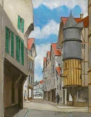 La tourelle de l'orfèvre, Troyes, France