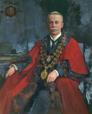 Alderman George Albert Eastwood, Mayor of Chesterfield (1905–1908)