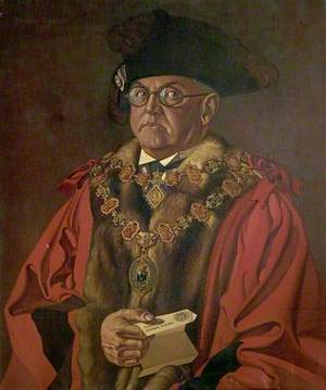 Sydney  Ashton Syddall, Mayor of Chesterfield (1941)