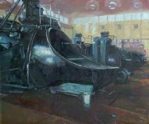 Gas Engines, Staveley Works, Derbyshire