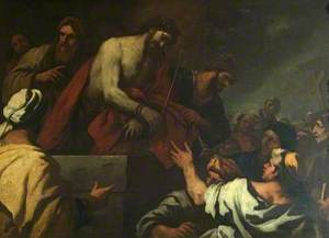 Christ Led to Calvary