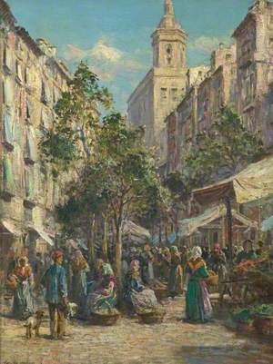 The Market, Gerona, Spain